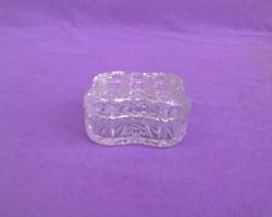 Csiszolt kristály bonbonier/gyűrű tartó