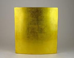 0N735 Formatervezett dizájn arany váza 25.5 cm