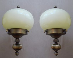 Art Deco stílusú falikar, fali lámpa szett