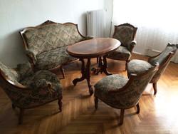 Bécsi barokk szalongarnitúra eladó