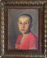 Prohászka József: Kisfiú portré