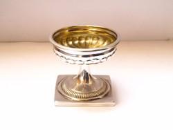 Rendkívüli bécsi ezüst fűszertartó 1839!