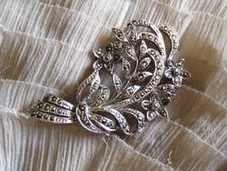 Csodaszép csillogó vintage bross