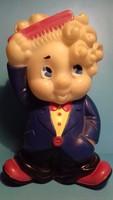 Cuki ritka gumi fiúcska figura játék