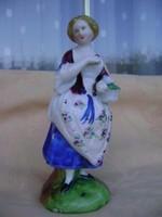 Antik XVIII., sz. Meisseni porcelán ez még minőség 290 gramm
