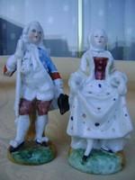 Antik 1750-1760 közötti eredeti Meisseni porcelán pár