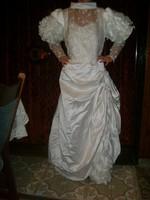 Retro menyasszonyi ruha