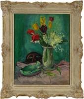 Vass Elemér : Virágcsendélet