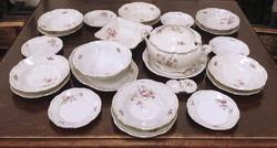 0N912 Régi Zsolnay porcelán étkészlet 24 db