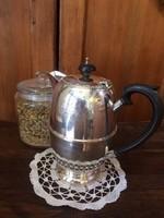 Csodás, angol ezüstözött kávés/teáskanna