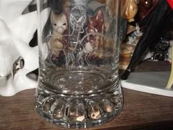Régi üveg korsó