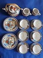 Japán tojáshéj porcelán készlet (21 db-os)