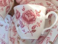 Rózsás reggeliző szett