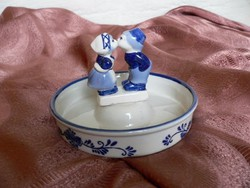 Holland porcelán tál
