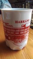 Zsolnay pohár Harkány csésze