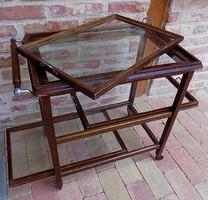 Art Deco zsúrkocsi retró loft design !!