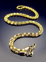 Aranyozott nyaklánc ABÜL 03 42