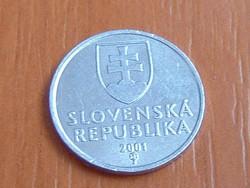 SZLOVÁKIA 10 HALERU 2001