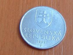 SZLOVÁKIA 10 HALERU 1999