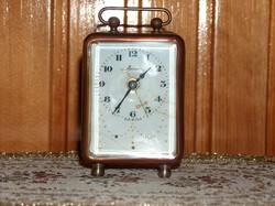 Igen régi olasz gyártmányú Veglia utazó óra, 1920 körül.