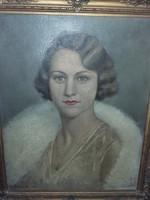 Berkes Ili festmény 1934- ből.