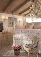 ÚJ! Szoknyás len H&M ágytakaró, Shabby Chic stílus 120x200cm
