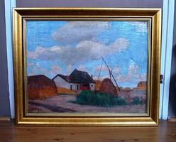 Zombory Lajos (1867-1933) festmény - AUKCIÓN szerepelt