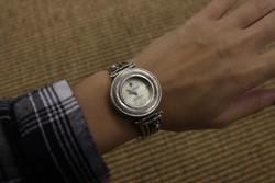 Izraeli ezüst óra (Silpada)