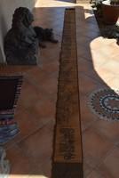 460 cm hosszú tekercs, Kínából!!!