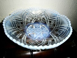 """Lady Chippendale""""antik üveg asztalközép  23,5 cm"""
