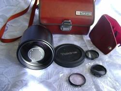 Nem használt TOKINA RMC 1:8 500mm Canon, Nikon, Olympus kompatibilis