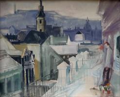 "Xantus Gyula ( 1919-1993) ! "" Kilátás"""