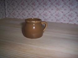Régi Zsolnay pici edény