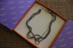 Különleges ezüst nyaklánc (silpada)