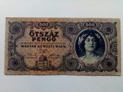 1945-ös 500 pengő EF