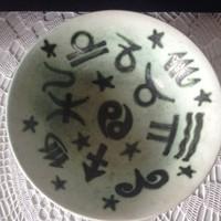 Gorka Géza horoszkópos kerámia tál