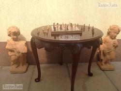 Antik asztal, Barokk dohányzóasztal 02.