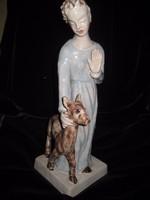 H .Rahmer Mária  nagyon szép  és ritka szobra  40cm