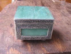 Jade vagy Malachit ékszeres dobozka