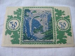 50 Pfennig 1921 Berlin Hajtatlan