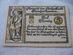 5 Pfennig 1921 Hajtatlan