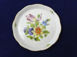 L062 Herendi virág mintás kisméretű hamutál