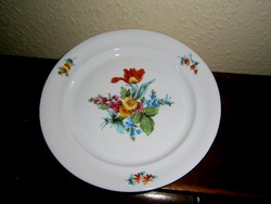 Kézzel festett porcelán tányér 17,5 cm