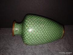 Antik rekesz zománc váza kínai tűzzománc vázácska
