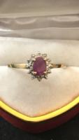 Arany gyűrű ribintal