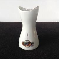 Aquincumi porcelán Miskolci emlék váza