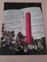 """Hanglemez és üdvözlőlap -  COLORVOX zenélő képeslap, """" Silent night"""""""
