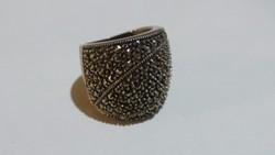 Ezüst Antik Markazit gyűrű 9,3 gramm 925