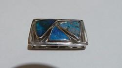 Ezüst medál Ausztrál opál 8,4 gramm 925