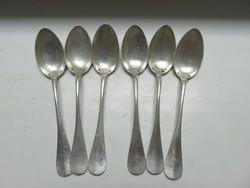 6db ezüst Diana fémjeles teáskanál